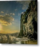 The Pirate's Tower Metal Print