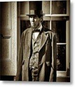 Mr Lincoln Metal Print