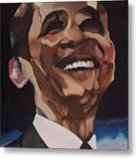 Mr. Obama Metal Print by Chelsea VanHook