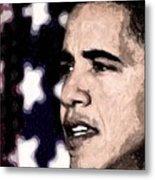Mr. President Metal Print by LeeAnn Alexander