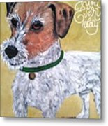 Mr. R. Terrier Metal Print