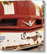 Mr. Rusty Metal Print