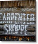 Mr. Sawyer Wood Metal Print
