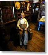 Mr. Smallwood And His Store Metal Print