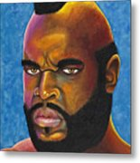 Mr. T Got Robbed Fool Metal Print