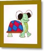 Mr. Turtle Metal Print