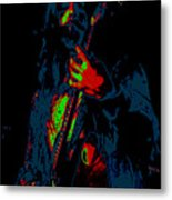 Mrmt #69 Enhanced In Cosmicolors #2 With Text Metal Print