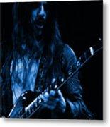 Mrmt #70 Enhanced In Blue Metal Print