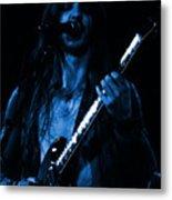 Mrmt #71 Enhanced In Blue Metal Print