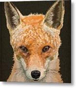 Mrs. Foxy Metal Print