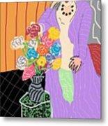 Mrs. Matisse Metal Print