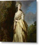 Mrs Peter William Baker Metal Print