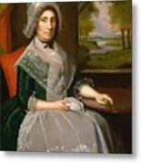 Mrs Richard Alsop 1792 Metal Print