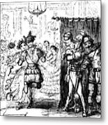 Mrs Sextus Consoles Herself With A Little Party Metal Print
