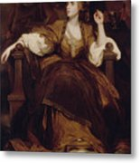 Mrs Siddons As The Tragic Muse Metal Print