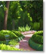 Mrs. Turner's Garden at Rienzi Gardens Metal Print