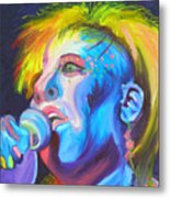 Mrs Ziggy Stardust Metal Print