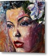 Ms. Lady Day Metal Print