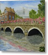 Ms23 French Stone Bridge  Metal Print