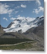 Mt Athabasca Metal Print by Kenneth Hadlock