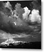 Mt. Baker Thunderstorm. Metal Print