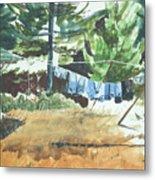 Mt. Barnabe Wash Metal Print