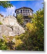 Mt. Cammerer Observation Tower Metal Print