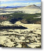 Mt. Capulin New Mexico Metal Print