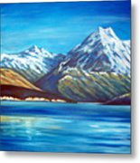 Mt Cook New Zealand Metal Print