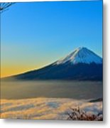 Mt. Fugi Metal Print
