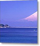 Mt Fuji Kanagawa Japan Metal Print
