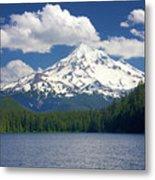 Mt Hood From Lost Lake Metal Print