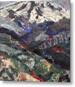 Mt. Hood From Lost Lake Butte Metal Print
