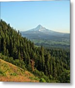 Mt Hood In The Distance Metal Print