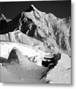Mt. Hunter Sunset Metal Print