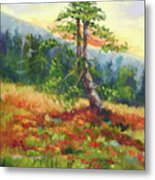 Mt. Jumbo Tree Ak Metal Print