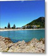 Mt Maunganui Beach 9 - Tauranga New Zealand Metal Print
