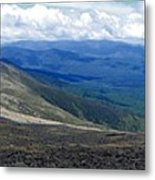 Mt Monroe Panorama Metal Print