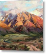 Mt Nebo Range Metal Print