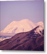 Mt Rainer From The Wenas Valley  Metal Print