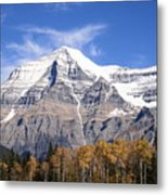 Mt. Robson- Canada's Tallest Peak Metal Print