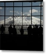 Mt. Saint Helens..an Active Valcano Metal Print