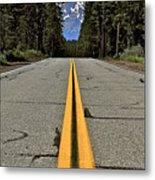 Mt Shasta California Metal Print