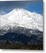 Mt. Shasta Photograph Metal Print