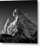 Mt Shivling Above Tapovan Metal Print
