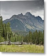 Mt Sneffels In The Colorado Rocky Mountains Metal Print