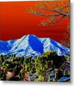 Mt Tamalpais From Another World Metal Print