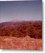 Mt Taylor In New Mexico  Metal Print