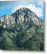 Mt. Wrightson Summit Metal Print