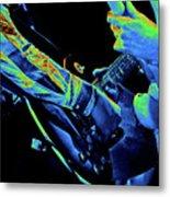 Mtb77#79 Enhanced In Cosmicolors Crop 2 Metal Print